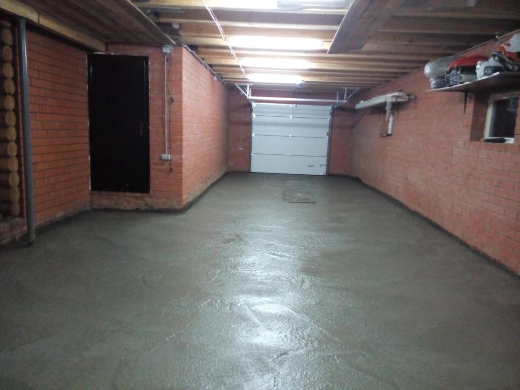 Пол в гараже: варианты дешевого покрытия, а также из чего 92