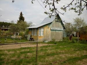 Садовый домик вид сбоку